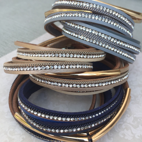 Wrap bracelet - various colours